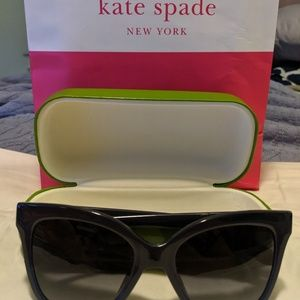 Kate Spade Sunglasses (Navy)